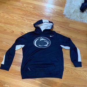 Nike Penn State Hooded Sweatshirt - Size Large